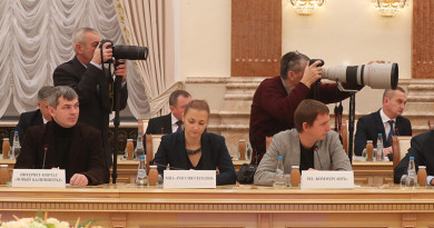 Встреча Президента Беларуси с представителями российского медийного сообщества
