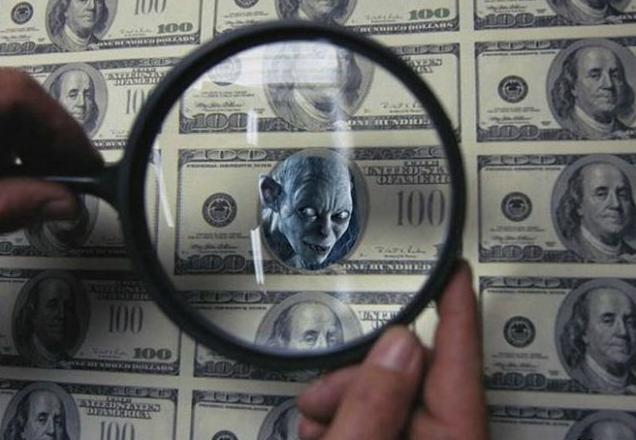 Фальшивый доллар