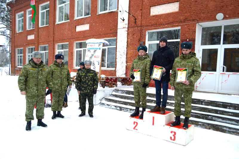 На пьедестале – Андрей Сеньков, Олег Шипунов и Андрей Крисанов