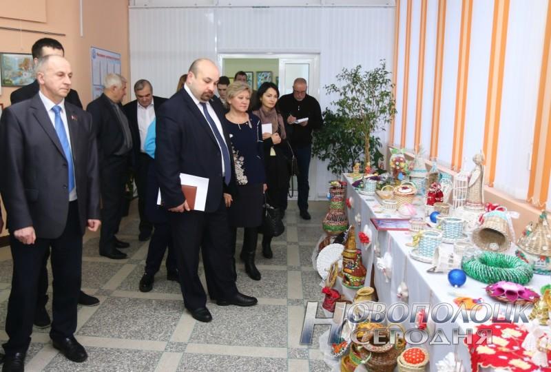 Центр социального обслуживания выставка