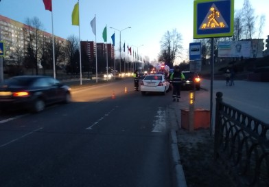 ДТП на Калинина. В результате дорожной аварии пострадала 62-летняя новополочанка