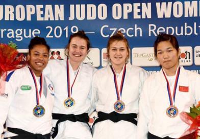 Новополоцкая дзюдоистка завоевала бронзовую медаль чешской чеканки