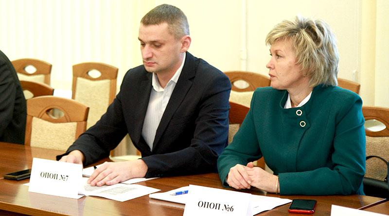 На заседании городского совета ОПОП