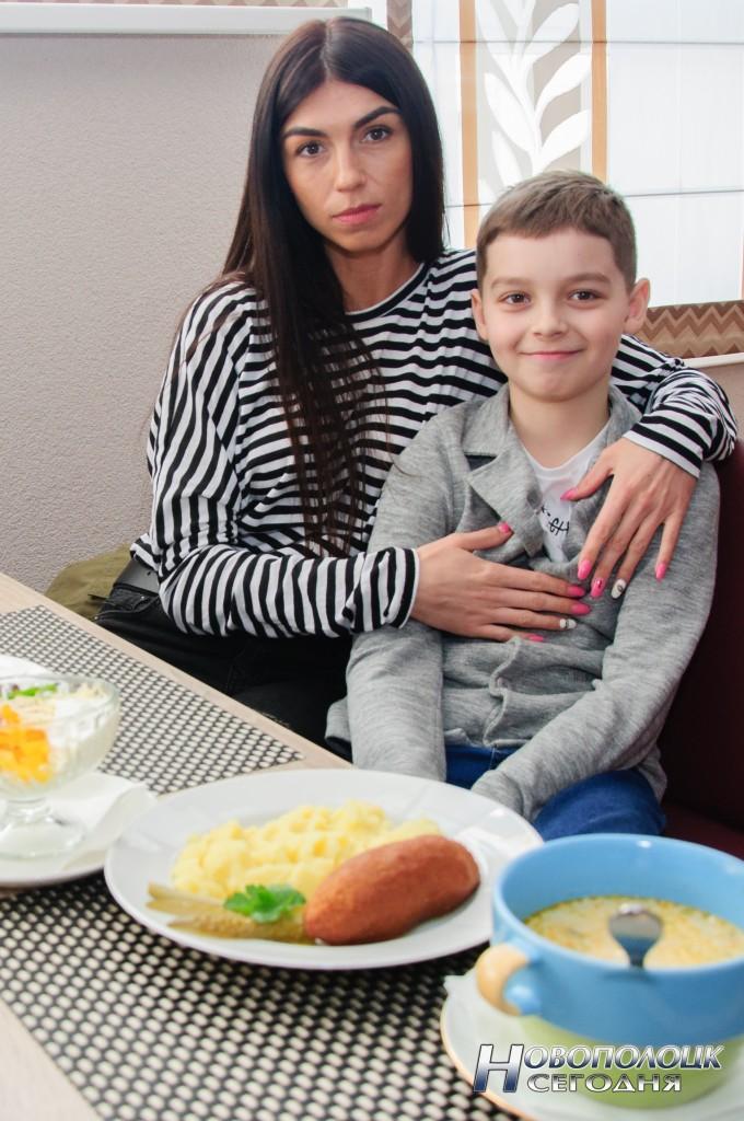 Новополочане Анастасия и Матвей Пильновы