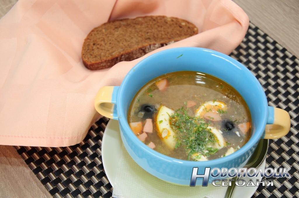 Солянка. Вкусный и сытный суп
