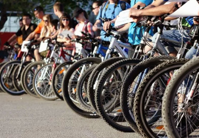 Городской велопробег стартует в Новополоцке 19 апреля. К участию приглашаются все желающие