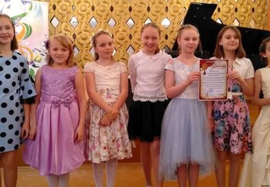 Юным талантам Новополоцка вручили «золотые» ноты и кисти