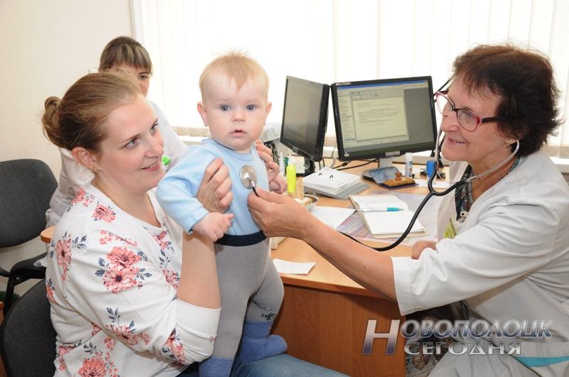 На приеме у педиатра Данаты Адольфовны Лавринович. Фото Ольги Банщиковой