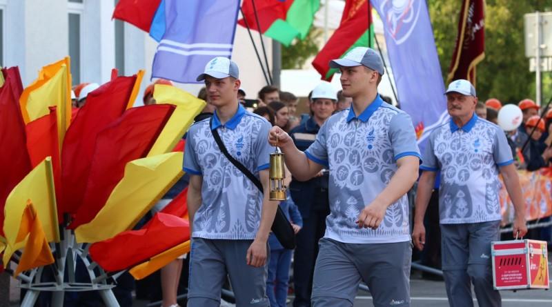 II Европейские игры: «Пламя мира» встречает Новополоцк