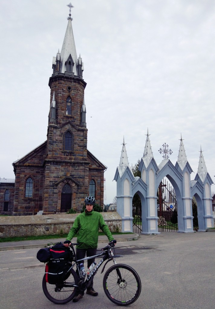 д. Липнишки,костел Святого Казимира в стиле неоготики, построен в 1910 году
