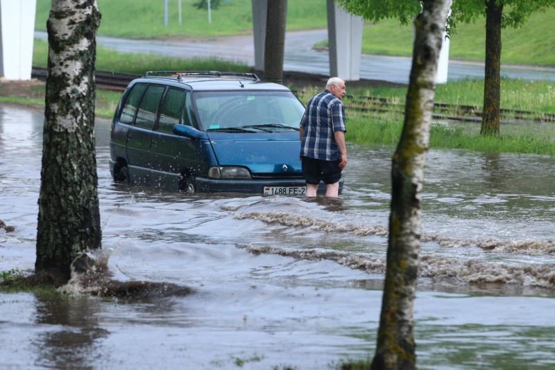 Потоп и человек