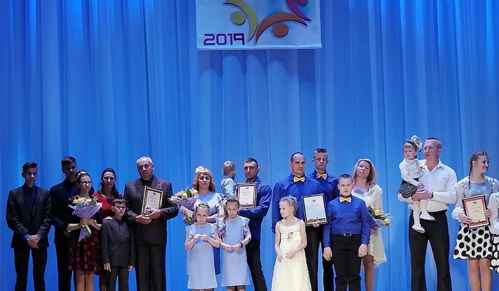Конкурсанты на сцене Витебской областной филармонии