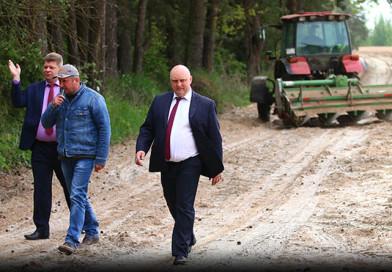 Дмитрий Демидов ознакомился с делами в ОАО «Кушлики»
