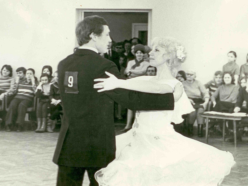 Первый руководитель ансамбля Надежда Петрусенко
