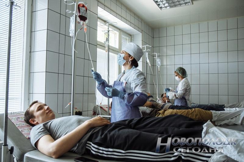 Доноры крови Новополоцкой СПК
