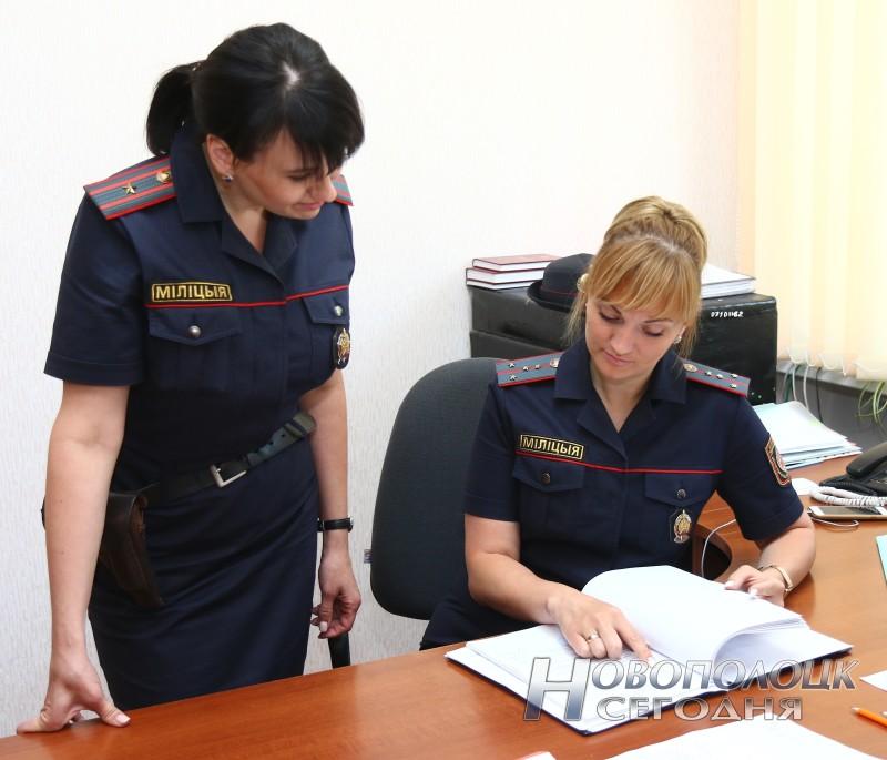 Участковый инспектор ИДН Татьяна Дорофеева и начальник инспекции Юлия Ободова