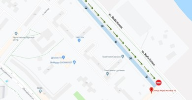 Об изменениях в дорожном движении Новополоцка сообщает Госавтоинспекция