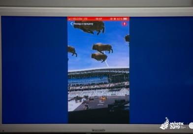 Хотите увидеть летающих зубров? Тогда вам будет интересна церемония открытия II Европейских игр