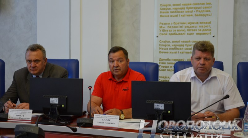 Министр Андрей Худык в Новополоцке. Какие проблемы землепользования озвучены?