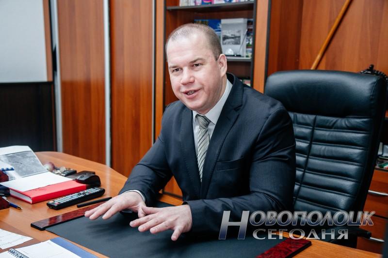 Начальник  Новополоцкого ГОВД Владимир ДУБРОВСКИЙ