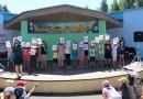 «Каникулы без дыма и огня». Новополоцкие спасатели устроили праздник для воспитанников лагеря «Комета»