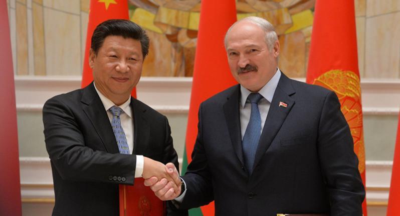 Си Цзинбпин и Александр Лукашенко