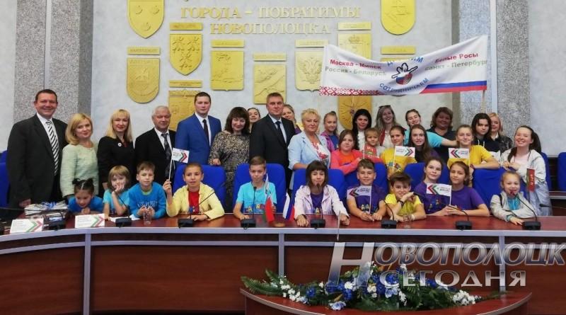 Не забывать, что мы соседи. Российская шоу-группа «Саманта» в Новополоцке