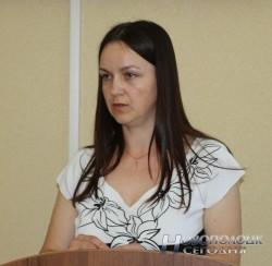 Начальник Новополоцкого отдела статистики Марина Игнатенко