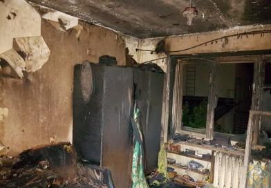 На пожаре в Новополоцке спасли 11 человек