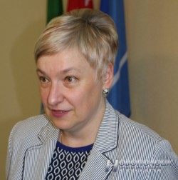 Председатель Национального статистического комитета Беларуси Инна Медведева