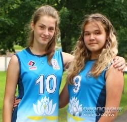 Алиса Жинь и Елизавета Прокофьева