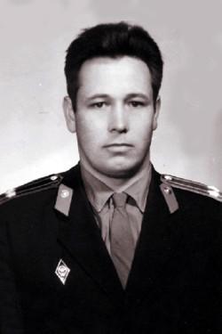 Подполковник милиции Владимир Рудаков
