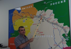 Режим штатный. Белорусский участок нефтепровода Сургут – Полоцк полностью очищен от грязной нефти