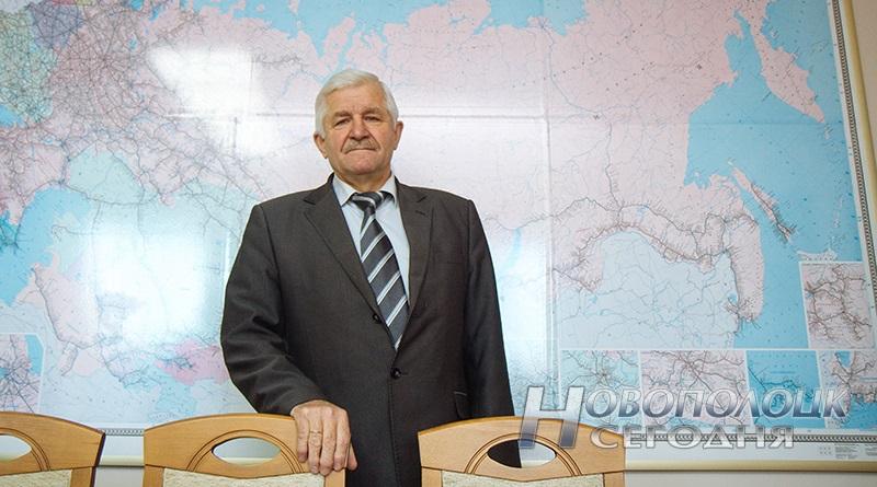 Директор новополоцкого РУП «СГ-ТРАНС» Евгений Езерский
