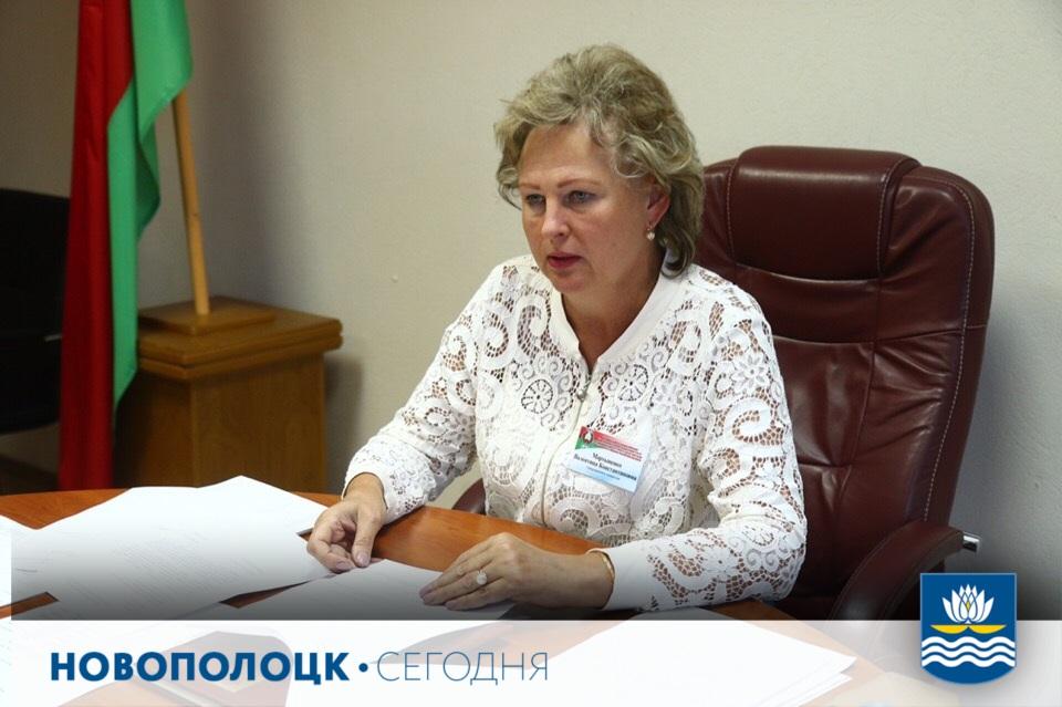 Председатель Новополоцкой окружной избирательной комиссии Валентина Мартыненко