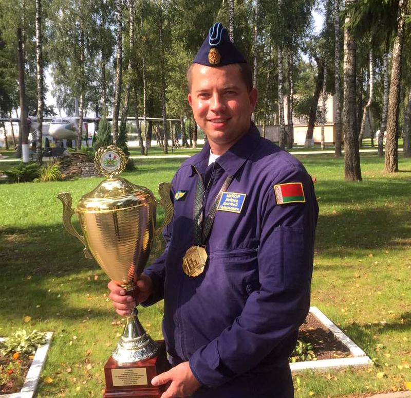 Дмитрий Жебрев с наградой Армейских международных игр – 2019