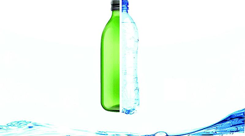 стекло или пластик