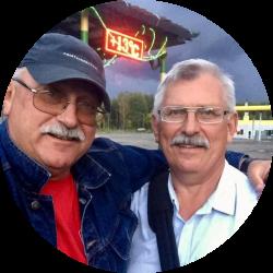 Заслуженные тренеры Республики Беларусь Аркадий и Владимир Геновы