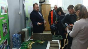 Делегация из Лудзы (Латвия) посетила Новополоцк