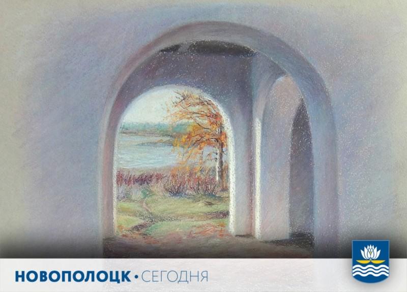 Вид из беседки на озеро Кучане
