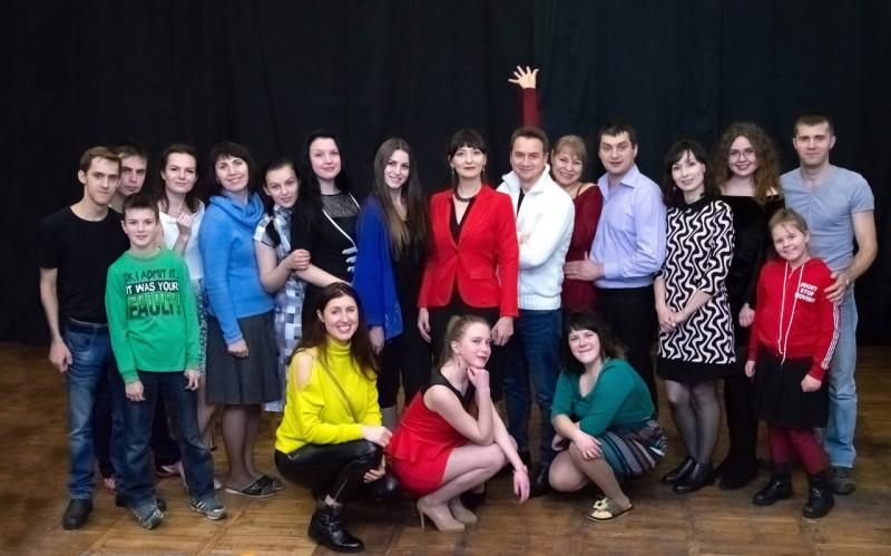 Современная труппа театра «Время» объединяет новополочан самых разных профессий и увлечений