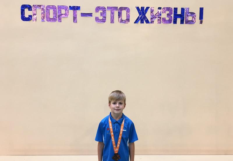 Евгений Шалковский (2-й класс СШ №14)