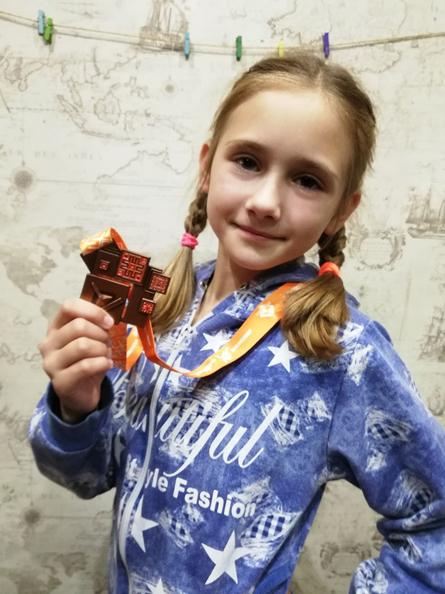 Виктория Даргель (3 класс СШ №3 имени В.В. Щербакова) – победительница зонального этапа областного этапа проекта