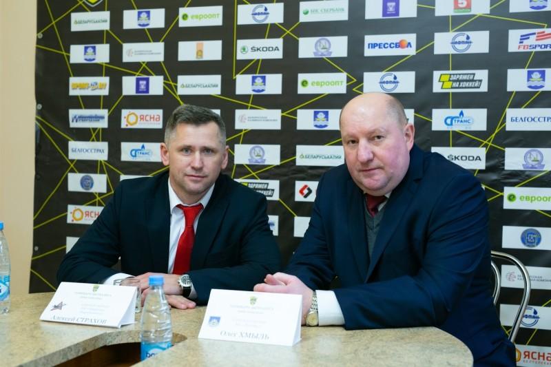 Алексей Страхов и Олег Хмыль