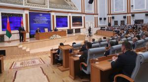О роли парламентариев, независимости и интеграции - Лукашенко обратился к депутатам и сенаторам