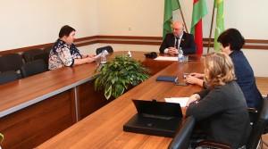 Дмитрий Демидов посетил с рабочим визитом Россонский район