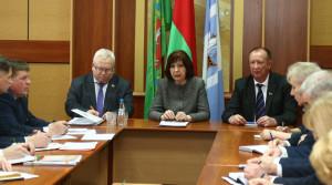 Наталья Кочанова: «Мы будем работать вместе для того, чтобы вырабатывать правильные законы, которые нужны будут нашей стране»