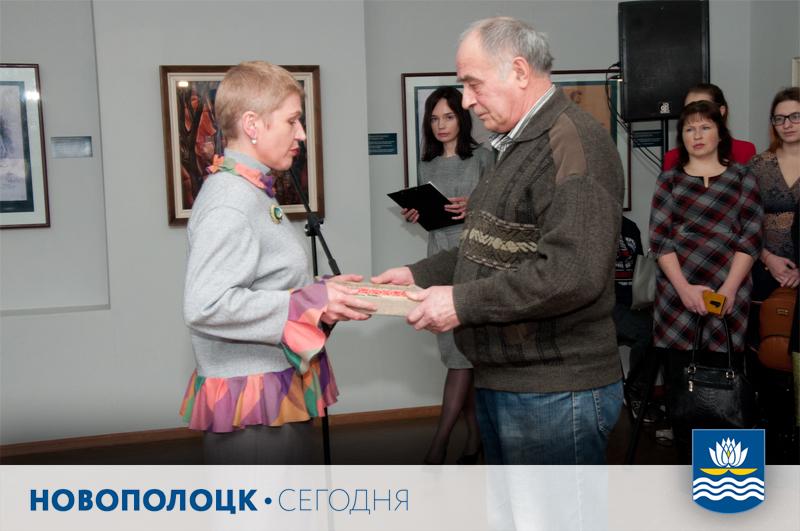Музейная коллекция пополнилась семейной реликвией новополочанина Евгения Беляева