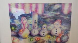 Рождественская выставка открылась в новополоцкой Детской художественной школе