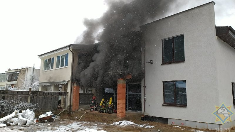 2Пожар на Двинской